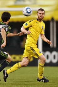 by: JAMIE SABAU Columbus Crew midfielder Eddie Gaven is one of his team's key players, says Portland Timbers coach John Spencer. The teams collide at 8 p.m. Saturday at Jeld-Wen Field.