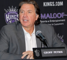 by: ROCKY WIDNER Geoff Petrie left as Trail Blazers general manager in 1994 and forged a successful front-office career in Sacramento.
