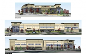 by: Submitted Graphic Once completed, Safeway's redeveloped Barbur location will measure 55,000 square feet, making it larger than the company's average store.