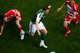 by: Christopher Onstott Portland Timbers forward Kenny Cooper shows off his footwork against FC Dallas. Cooper and goalkeeper Troy Perkins are the Timbers' highest-paid players, each due base salary of $250,000 for this season.