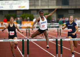 by: Jennifer Hardin Standouts at the state track and field meet included Benson's Jazmin Ratcliff, claiming the 5A 300 hurdles.