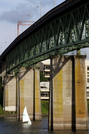 by: Christopher Onstott Clackamas County residents voted overwhelmingly last week to defeat a vehicle registration fee that would have helped fund the Sellwood bridge's replacement. The bridge is in Multnomah County.