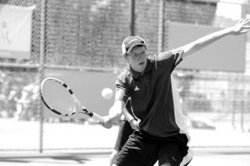 by: MATTHEW SHERMAN Lakeridge's Chris Deal, along with his partner Michael Chen advanced to the quarterfinals of last week's state tennis tournament.
