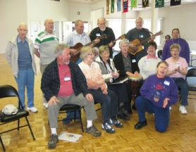 by: Barbara Sherman SWEET, SWEET MUSIC — At a recent session of the King City Music Club, those in attendance burst into song with their voices and a few musical instruments.