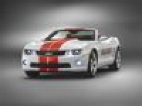 by: General Motors Corp. The 2011 Camaro SS convertible looks great, top up or down.