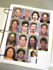 by: Mara Stine Multnomah County Deputy DA Ryan Lufkin tries to keep a photo of each heroin overdose victim whose death he helps investigate. This is one page in a three-ring notebook filled with pictures and paperwork.