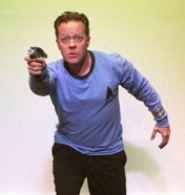 "by: SUBMITTED PHOTO Lake Oswego actor Chris Thompson is part of ""The Unscriptables."" The improvisational group will present live unscripted ""lost"" musical episodes of ""Star Trek."""