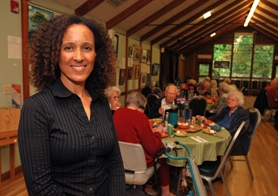 by: VERN UYETAKE Malaika Maphalala of West Linn will help the Lake Oswego Adult Center Foundation touch the lives of more folks age 55 and over.
