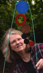 "by: vern uyetake Lynn Woolson of West Linn crafted a career in metal artwork through her big ideas and ability to ""figure out how to make them."""