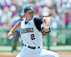 by: COURTESY OF VANDERBILT UNIVERSITY Third-ranked Vanderbilt's loaded pitching staff includes Sonny Gray, the 18th pick in this week's major league draft. The Commodores face Oregon State this weekend in the NCAA super regionals.