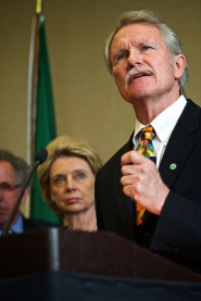 by: JAIME VALDEZ Oregon Gov. John Kitzhaber wants legislators to change the state's health care system with two bills he says will improve care and cut costs.