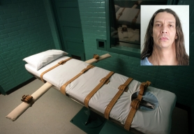 by:  Joe Raedle Gary Haugen was in prison for killing his ex-girlfriend's mother when he killed a penitentiary inmate in 2003 and was sentenced to death. Haugen's execution by lethal injection in a room similar to this Texas chamber is set for Aug. 16.