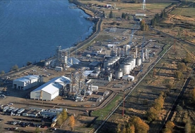 by: Submitted photo An aerial view of Columbia Pacific Bio-Refinery located at Port Westward in Clatskanie.