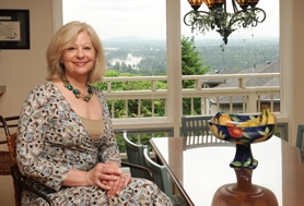 by: vern uyetake Cynthia Barr is excited about her new care home in Lake Oswego. It offers beautiful scenic views and much more.