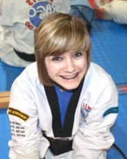 by: John Brewington FINALIST—Stephanie Toney is finalist for the Chris Canning Award of Excellence in Taekwondo.
