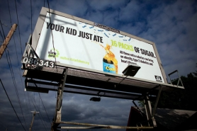 by: CHRISTOPHER ONSTOTT National studies show that sugary soft drinks contribute to obesity, diabetes and heart disease. Multnomah County purchased billboard space around town for its anti-obesity campaign, hoping to encourage young people to pick up healthier drink options this summer.