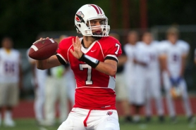 by: Christopher Onstott Peter Williams, recent Lincoln High quarterback, plans to compete in football and lacrosse at Massachusetts Institute of Technology.