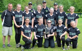 by: submitted photo TOURNEY CHAMPS — The Tigard Blast 14U team took first place at the Oregon Fever Invitational.