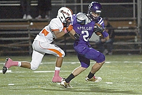 by: Miles Vance ONCE MORE — Sunset's Kyler Bruno will help lead the North team in Saturday's Les Schwab Bowl.