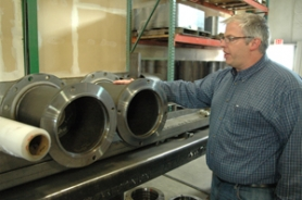 by: Gus Jarvis Northwest Technologies CEO Eric Sale discusses an apparatus designed in-house to streamline the manufacturing of a certain part.
