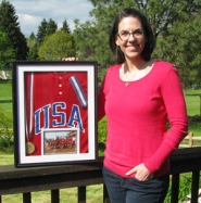 by: Jeff Spiegel Debbie Booth earned a spot on the US national team for the 1991 Pan-America games, then focused on a teaching career and bringing up her family.