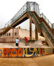 "by: Rita A. Leonard The new ""Brooklyn Street Skate Spot"" provides skateboard fun."