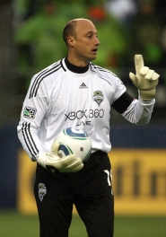 by: COURTESY OF SEATTLE SOUNDERS FC Kasey Keller, renowned soccer goalkeeper whose roots include a career at the University of Portland, plays in the Rose City possibly for the last time on Saturday, when the Seattle Sounders visit the Portland Timbers at Jeld-Wen Field.