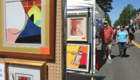 by: file photo Artists exhibit their creations along streets in downtown Gresham during the Art Walk event, which is set for Saturday, July 16.