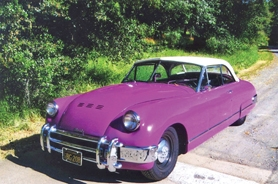 by: Photo courtesy of Forest Grove Rotary The Muntz Jet, like the one above owned by Wayne Wenger, can reach a top top speed of 110 mph. They were popular cars in Hollywood and cost $4,936 when they were new in the 1950s.