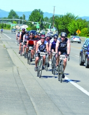 by: John Brewington TACKY — Bikers in the Seattle to Portland Classic ride had to contend with tacks on the highway Sunday from Scappoose to Cornelius Pass Road.