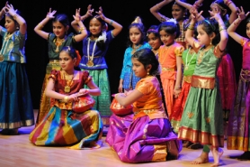 by: Submitted photo Classic Indian dance will be performed by members of The Rasika Music School, operated by local Bharatha Natyam dance maven Jayanthi Raman, on the Northeast Stage at the Party in the Park's Beaverton International Celebration.