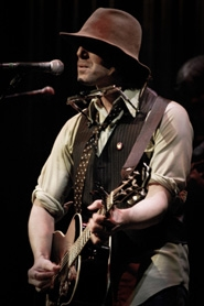 by: STACIE HUCKABA Todd Snider, originally from Beaverton, is seen here on stage. He's back for an appearance at Horning's Hideout in North Plains on Saturday.