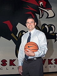 by: Miles Vance READY FOR FLIGHT — Matt Humphreys was hired last week to take over the head coaching position for Southridge High School's storied girls basketball program. Humphreys most recently led the Glencoe varsity girls team for the five seasons.