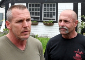 by: Jim Clark Geoff Thompson, left,  and Angelo Simione have lost ownership of the View Point Inn.