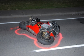 by: Contributed photo Officials would like anyone who witnessed this motorcycle heading northbound on Southeast 182nd Avenue at 10:30 p.m. Saturday, July 23, to call the Gresham Police tip line at 503-618-2719 or 1-888-989-3505.