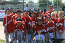 by: SUBMITTED PHOTO The Redland Rockies pose proudly with their league championship hardware from the 2011 Junior Baseball Midget American league season. Pictured are: (front row, from left) Colby Iverson, Lane Marshall, Dustin Asher, Robbie Hamilton, Spencer Townsend and Hunter Manassero; (second row) Jared LaPointe, Tim Nguyen, Grant Ross, Keliikoa Falepapalangi, Joseph Jannsen and Kelson Hennessy; and (not pictured) Matt Petersen.