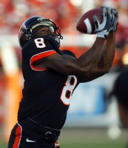 by: L.E. BASKOW The anticipated return of James Rodgers, Oregon State receiver, from a season-ending knee injury in 2010, would bolster the Beavers' hopes of making a 10th bowl appearance in the past 13 seasons.