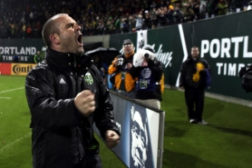 by: JAIME VALDEZ John Spencer has been both fiery and cool in his first season as Portland Timbers coach.