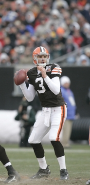 by: Submitted photo Derek Anderson, seen here during his tenure with the Cleveland Browns, was cut Thursday from the Arizona Cardinals. Anderson played with the Cardinals for one season on a two-year deal following his release from the Browns in 2010.