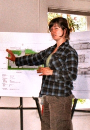by: Eric Norberg Naomi Montacre, proprietor of Naomi's Farm Supply in Sellwood, told the SMILE Land Use Committee, meeting on July 7th at SMILE Station, of her immediate efforts to vacate the property she had been renting from the Les Schwab Company by the end of July, to accommodate plans for construction of a tire center on the east end of the property.