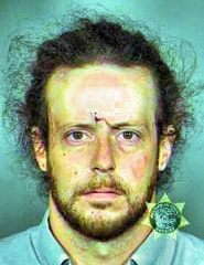by: Courtesy PPB and MCDC Police accuse this man, 33 year-old Woodstock resident Brian Shaun Nickel, of assaulting his three-months-pregnant wife.