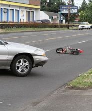 "by: David F. Ashton Witnesses say the rider of this apparently unlicensed ""toy"" mini-motorbike drove full-speed into traffic on S.E. 82nd Avenue on July 8th, as the afternoon rush hour was winding down."