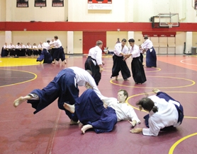 by: Chase Allgood Birankai Summer Camp packed the Pacific athletic center with sparring partners in July. Events like the Aikido camp keep the campus alive while students are gone in the summer.