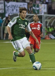 by: BECCA QUINT Sal Zizzo of the Portland Timbers makes a run against Toronto FC.