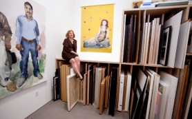 "by: CHRISTOPHER ONSTOTT Elizabeth Leach is celebrating 30 years as a gallery owner with the exhibits, ""Shape of the Problem,"" at three venues this month. ""The whole thing in contemporary age is what's underneath,"" Leach says."