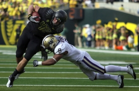 by: JAIME VALDEZ Oregon's targets for passes in 2011 will include tight end David Paulson and wideouts Lavasier Tuinei and Josh Huff. They and others hope to at least match the output of last season's main receivers, Jeff Maehl and D.J. Davis, who both graduated.