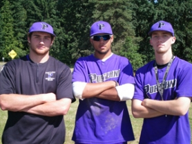 by: Jeff Spiegel Barlow graduates, from left, Jake Thran, Jordyn VanAtta and Jake Otness will join the Portland Baseball Club on its trip to the 18U Babe Ruth World Series starting this weekend in Ephrata, Wash.