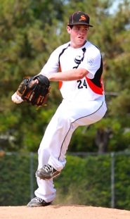 by: Darci Hering HARD HURLER—Will Sprute was one of 10 Scappoose Juniors that came up big at the Little League Western Regional Tournament last week.