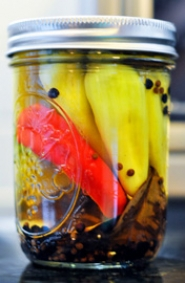 by: SUBMITTED PHOTO Oregon State University Extension Service offers pickling how-tos online and through their Hotline. Making pretty pickled peppers likes these will be a snap with their directions.