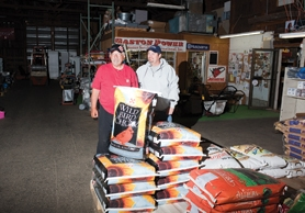 by: Chase Allgood Owner Dave Rohrer and manager John Terry plan to fuel Gaston Feed & Hardware through another 18 years.
